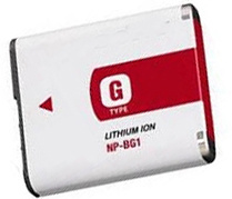 Batteria della macchina fotografica di Digitahi per Sony BG1