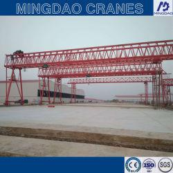 La construcción de ferrocarriles grúa de pórtico de hormigón premoldeado viga puente de la erección