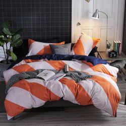 Textil hogar imprime la hoja de cama Colchas edredón juego de ropa de cama