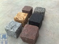 G654/G603/G684/G682/Grey/Black/Red/Yellow Graniet/Basalt/Blok/Cobble/Kubus/Vlag/Rand/Kerbstone/Blinde/de Vorm/de Straatsteen van de Ventilator voor het Modelleren/Tuin/Openlucht