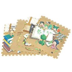 De Mat van het Raadsel van het Schuim van EVA van het Beeldverhaal van de Vloer van de Douane van de Baby van de Leverancier van China