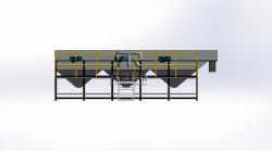 Swim-Separation de plástico do tanque de lavagem (Floating-Sink) para a Linha de Lavagem