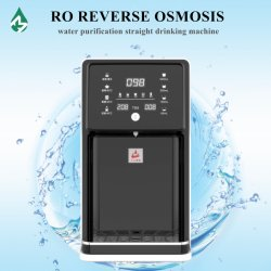 Inverter Osmosi Desktop novo lançamento Instant quentes da máquina elétrica de plástico do tampo da mesa com dispensador de água RO Purificador Filtro 50g segurança da água para uso doméstico a água