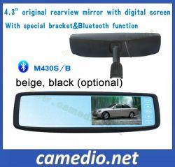 Espejo retrovisor Original 4.3inch Monitor con soporte Bluetooth OEM&