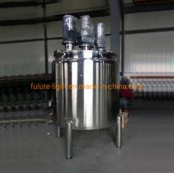 Caldaia mescolantesi industriale rivestita del riscaldamento di vapore da 1000 litri