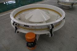 Tela de tapioca Vibrocompressão Activador do compartimento da descarga de vibração da máquina para Rotoflow