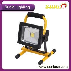 Fonctionne sur batterie portable 30W LED rechargeable Projecteur (SLFL-WT03)