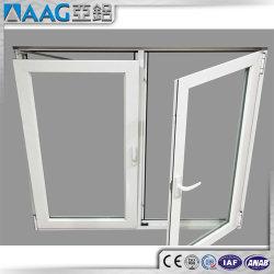 Asien-Aluminiumgruppen-Aluminiumprofil-Flügelfenster-Fenster-Doppelt-Glasfenster