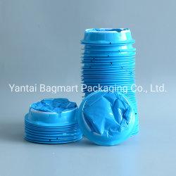 使い捨て可能な医学のプラスチック青く白いEmesisか吐物または航空酔いまたは病気袋
