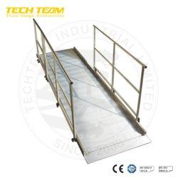 Rampa di carico del rullo di alluminio del camion resistente
