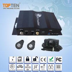 GPS vehículo Tracker RFID con regulador de velocidad, correo electrónico de alarma, RFID, Bloqueo/desbloqueo de la puerta (TK510-KH)