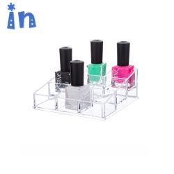 Clair de haute qualité le vernis à ongles Stand Affichage cosmétiques en acrylique