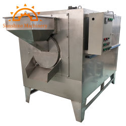 Les écrous de soja Graines de citrouille torréfacteur d'arachide grillage Bean Machine
