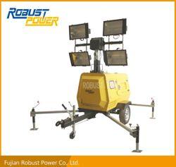 Dieseldes generator-1500rpm MetallHalide Lampe Rplt6800 Beleuchtung-des Aufsatz-4*1000W