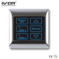 Ivor Touch Screen Light Switch met Schemerigere LEIDENE van de Schakelaar Dimmer met Afstandsbediening