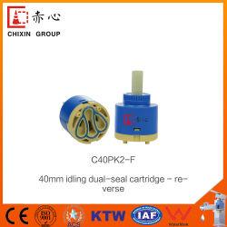 Carcasa de plástico grifo mezclador toca la válvula de cartucho cerámico