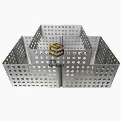 Mo1 99,95% puro Barcos de molibdênio para anelamento e sinterização