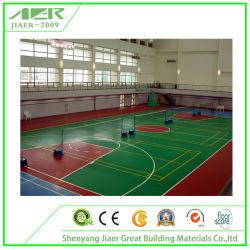 L'intérieur PVC de basket-ball Sports Flooring Multi Fonction Plancher recouvert de vinyle de la Cour de 5mm