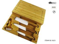 Ensemble de couteaux en céramique de haute qualité pour une batterie de cuisine (SE-3623)