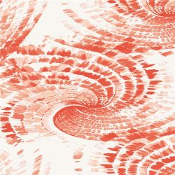 Ropa de mujer tejido de seda de Impresión Digital (XF-0057)
