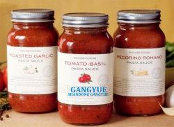 500ml sauce miel de la confiture de coller une salade de fruits Légumes en conserve en pots de verre