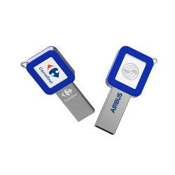 Forme de clé USB en métal, imprimer un logo personnalisé les lecteurs Flash USB, 8 Go de 16Go à 32 Go 64Go USB Stick