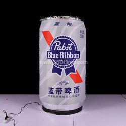 علب قلادة الجعة القابلة للانتفاخ المخصصة للترويج للإعلانات