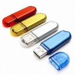 Nouveau design en plastique de 16 Go de mémoire flash USB
