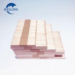 China Proveedor de madera de abedul desechables Helado Stick