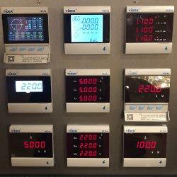 Tester di misurazione corrente di fattore di potere di frequenza di tensione del comitato di colore di Yidek