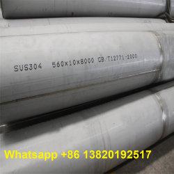 Толстые стены большого диаметра TP304 /304л/316L/321/904Л из нержавеющей стали Сварные трубы