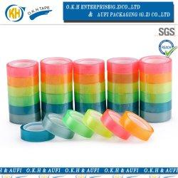 3.6 Plastikregenbogen-selbstklebendes Briefpapier-Band