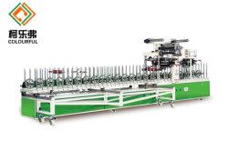 Perfil de las ventanas de PVC termofusible PUR máquina laminadora con buen precio de fábrica