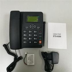 듀얼-밴드 1/2 SIM 카드 구멍을%s 가진 GSM 조정 무선 탁상용 전화 (또는 쿼드 악대)