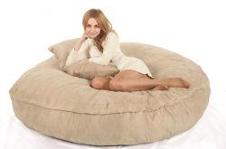 Grand sac de haricots en mousse pour adulte avec le confort en microfibre daim Taille 180x30cm