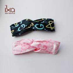 Ikaの女性の方法ヘッドバンドヘッド覆いの結び目かCrissの照準バンドニースの毛のアクセサリ