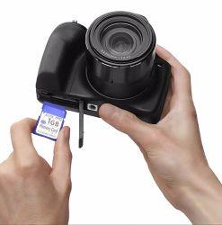 A alta tecnologia de memória SD 256 GB