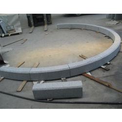 G603 Pavimentadoras de granito cinza natural refrear lancis de pedra de Estrada