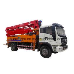 割引かれた28mのコンクリートトラックによって取付けられるブームポンプ構築機械