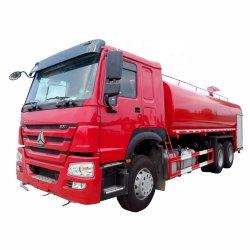 6X4 Gebrauchtwasserbehälter Transport Besprengung Wassertankwagen