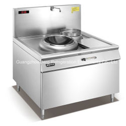 Wok à induction cuisinière High-Power commercial