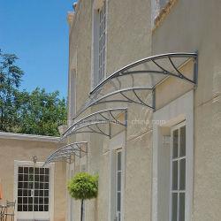 Bricolaje de policarbonato exterior toldo toldos Cortinas de lluvia protección UV
