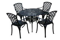 Muebles de exterior de aluminio fundido de uso general mesa al aire libre