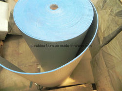 Retardateur thermique élevée cellule étroite XPE mousse avec Doule aluminium recto