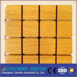 مواد سريعة التتجددة بالخشب الخشب الصوتيات لوحة السقف