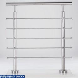 バルコニーのためのDIYのステンレス鋼の手すりまたはガラスの手すりまたは手すりの付属品かステアケースまたはBaluster