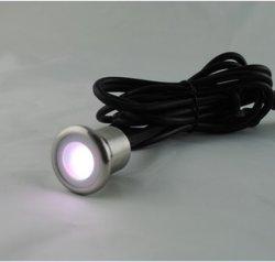 Der LED-Garten-Beleuchtung-DC12V 0.8W vertiefte helle IP67 SMD2835 LED Tiefbaulampen Fußboden-Patio-der Straßenbetoniermaschine-