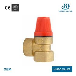 Латунный предохранительный клапан 1/2''-3/4''дюйм для системы отопления