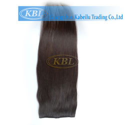 白人女性のための毛の拡張の品質クリップ
