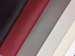 Cuir synthétique en PVC de faux cuir artificiel synthétique gaufré pour meubles canapé